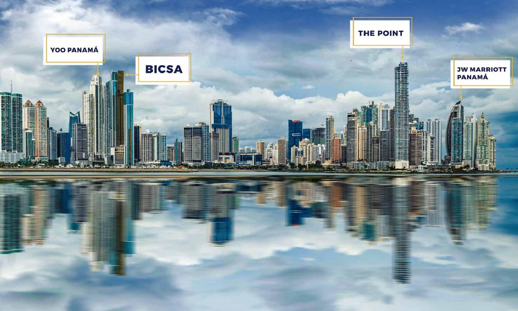 Ranking edificios altos en Panamá
